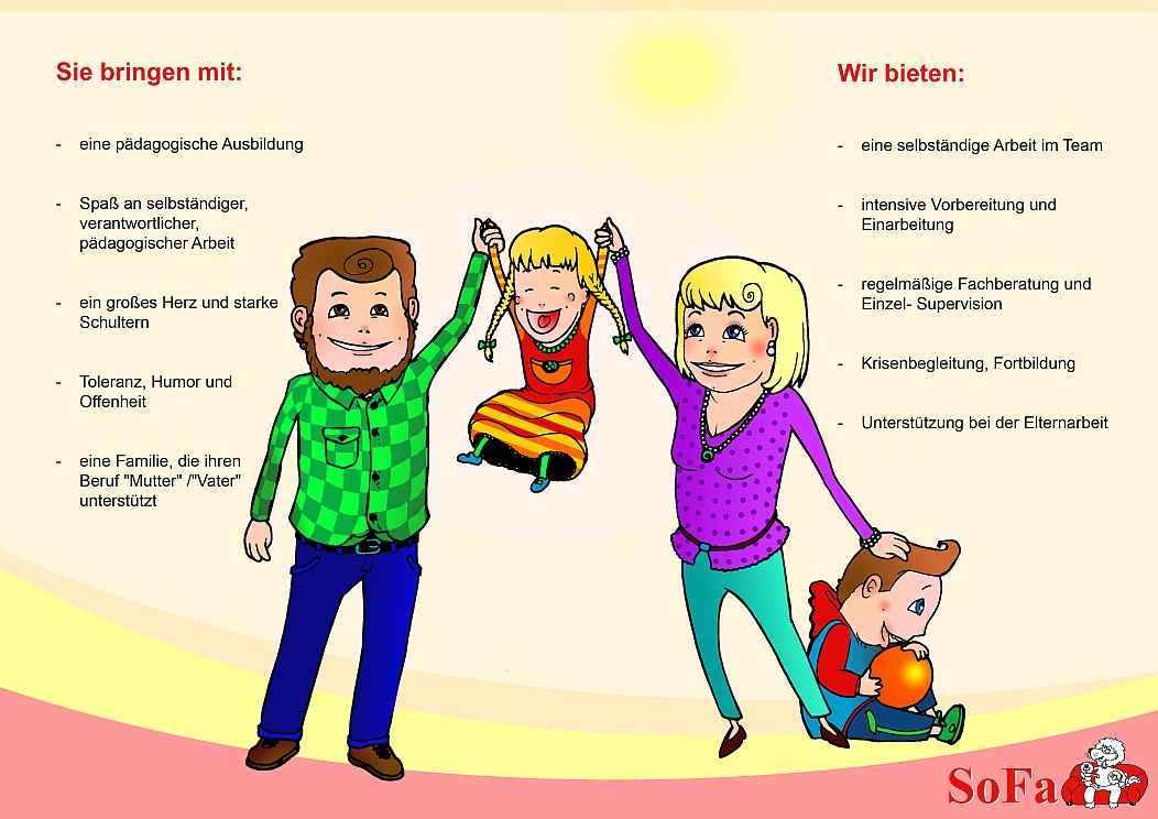 Pädagogische Fach-Familien gesucht!